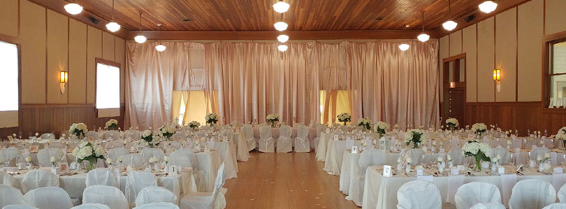 Wedding at Alexander Valley Hall
